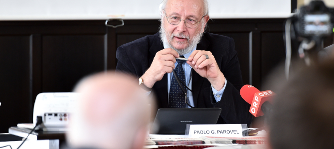 Trieste Libera News: Pressekonferenz, Wien 9-9-2014