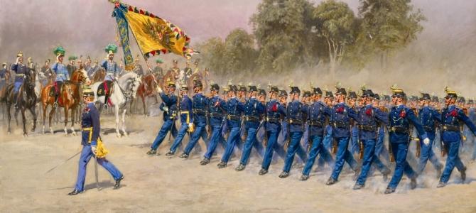 Trieste-Trst-Triest 9. novembre: Caduti austro-ungarici, cerimonia / Avstroogrski padli, svečanost / Gefallene Soldaten Österreich-Ungarns, Gedenkfeier / Austrian-Hungarian fallen soldiers, ceremony