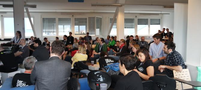 Die Bewegung Freies Triest am Grazer Barcamp