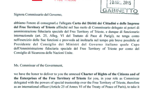 Free Trieste and the Charter of Rights