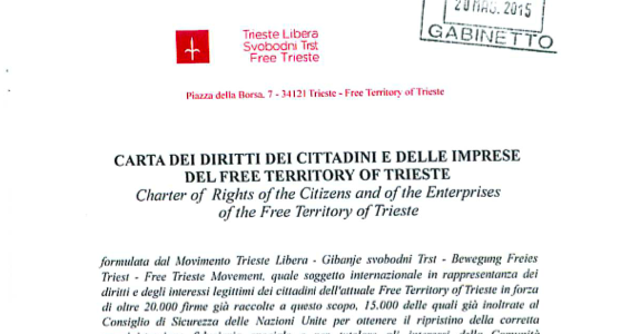 Charter of Rights of the Free Territory of Trieste