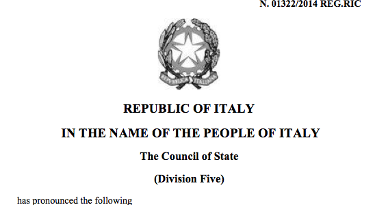 THE SCANDALOUS JUDGMENTS OF ADMINISTRATIVE ITALIAN JUSTICE ABOUT THE FREE TERRITORY OF TRIESTE