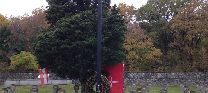 Prosek – Prosecco, 15.11.2015: Trieste ricorda i suoi Caduti austro-ungarici // Trst spominja svoje avstro-ogrske padle // Triest gedenkt seine österreichisch-ungarischen Gefallenen // Trieste commemorates its Austro-Hungarian fallen.