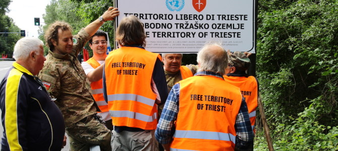 FOUR MONTHS ON THE BORDER OF THE FREE TERRITORY OF TRIESTE