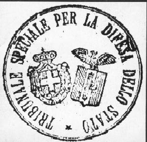 NO TO ITALIAN SPECIAL COURTS IN THE FREE TERRITORY OF TRIESTE