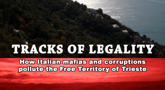 Presentation of the new, updated Italian edition of investigative book TRACKS OF LEGALITY by Roberto Giurastante
