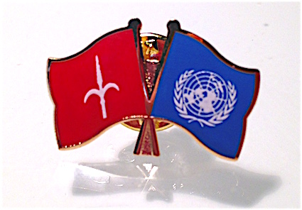 Friendship pin: United Nations & Free Territory of Trieste