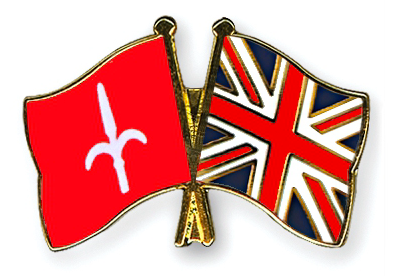 Friendship pin: United Kingdom & Free Territory of Trieste (preorder)