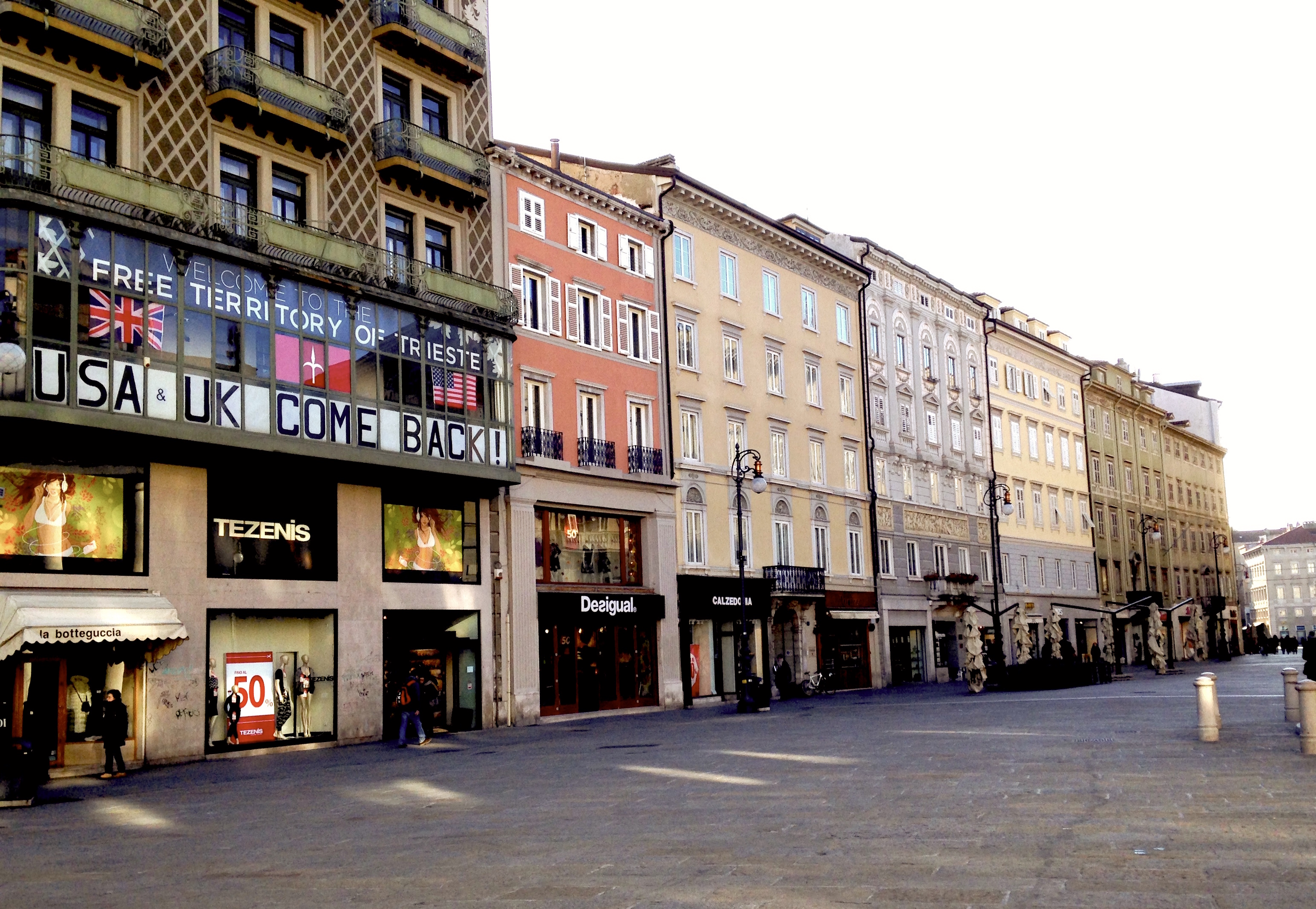 Head office in Trieste
