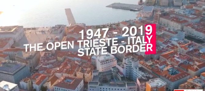 The open Trieste – Italy State border
