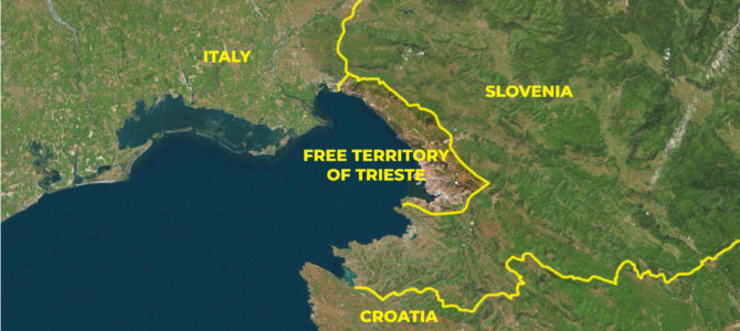 10 February: the 1947 Treaty of Peace makes Trieste an independent State and international Free Port